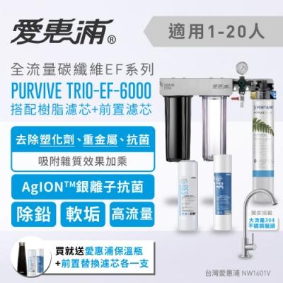 愛惠浦 壓力錶吊架型三道式淨水器 EVERPURE PURVIVE-TRIO EF6000