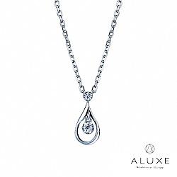 A-LUXE 亞立詩鑽石 Drop水滴 美鑽項鍊