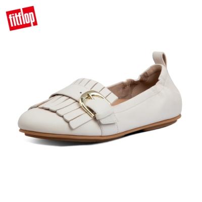 FitFlop ALLEGRO FRINGE BALLERINAS芭蕾舞鞋-女(白石色)