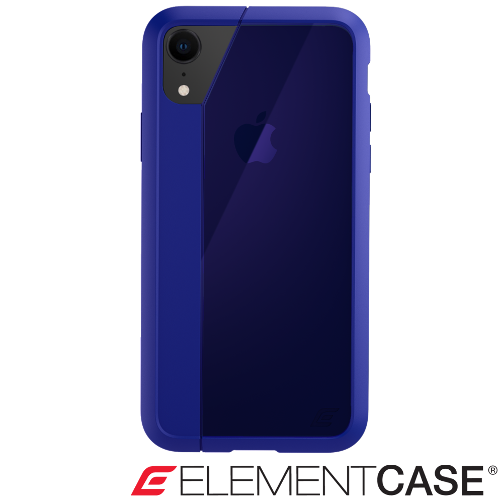 美國 Element Case iPhone XR Illusion 輕薄幻影防摔殼 -藍