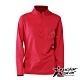 【PolarStar】女 立領保暖長袖上衣『紅』P20228 product thumbnail 1