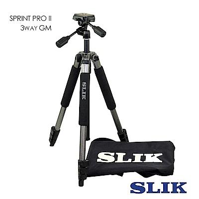 日本 SLIK Sprint Pro II 3 Way GM 附 SH-704E 三向雲台