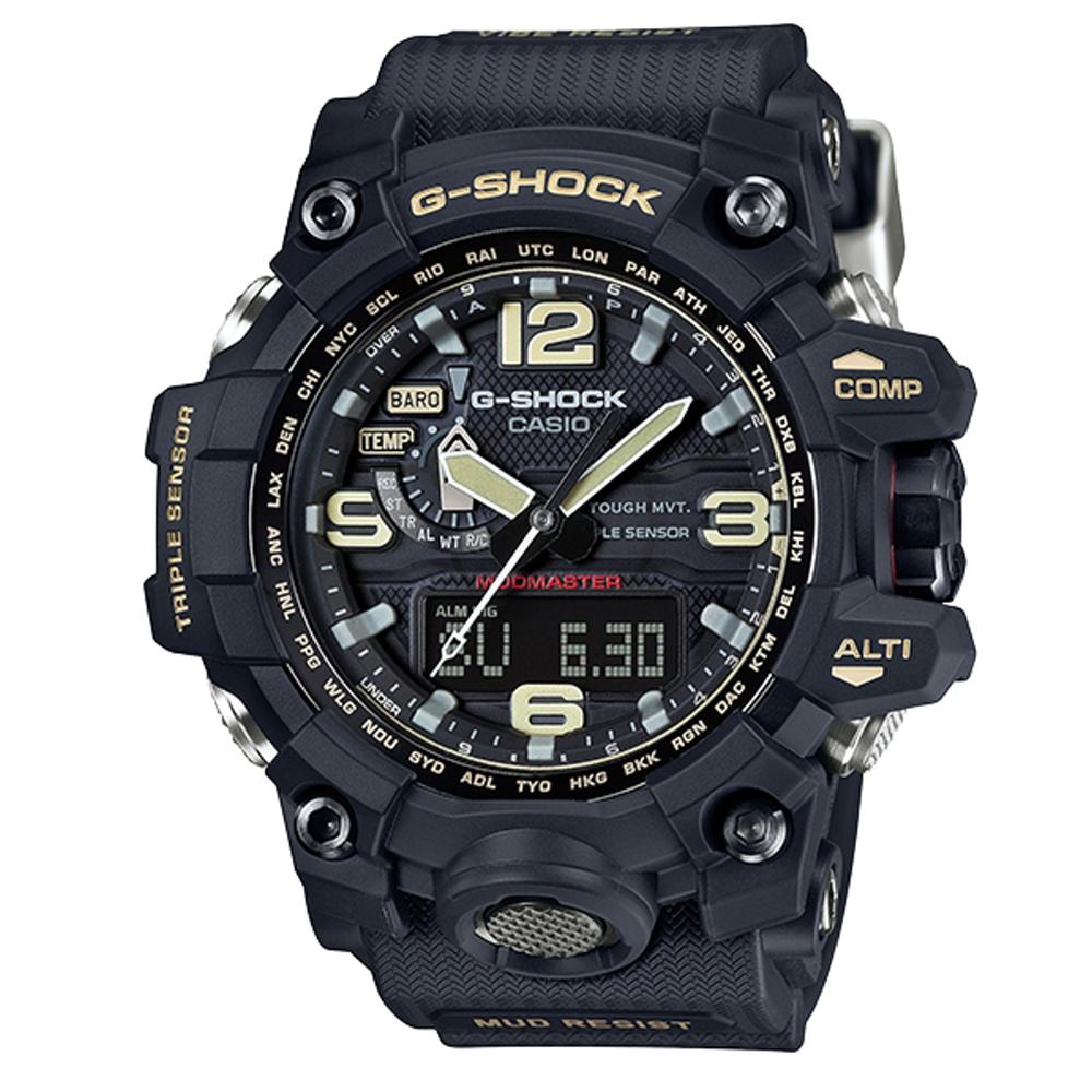 CASIO G-SHOCK/強悍有力征服電波動運腕錶/GWG-1000-1ADR @ Y!購物