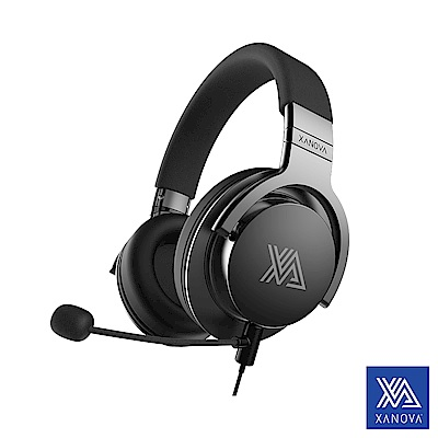 【XANOVA星極】Juturna 輕量 7.1立體聲道監聽級電競耳機