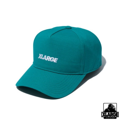 XLARGE STANDARD LOGO 5PANEL CAP經典刺繡棒球帽-綠
