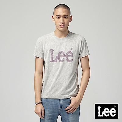 Lee ART IS EVERYTHING LOGO短袖圓領T恤-灰
