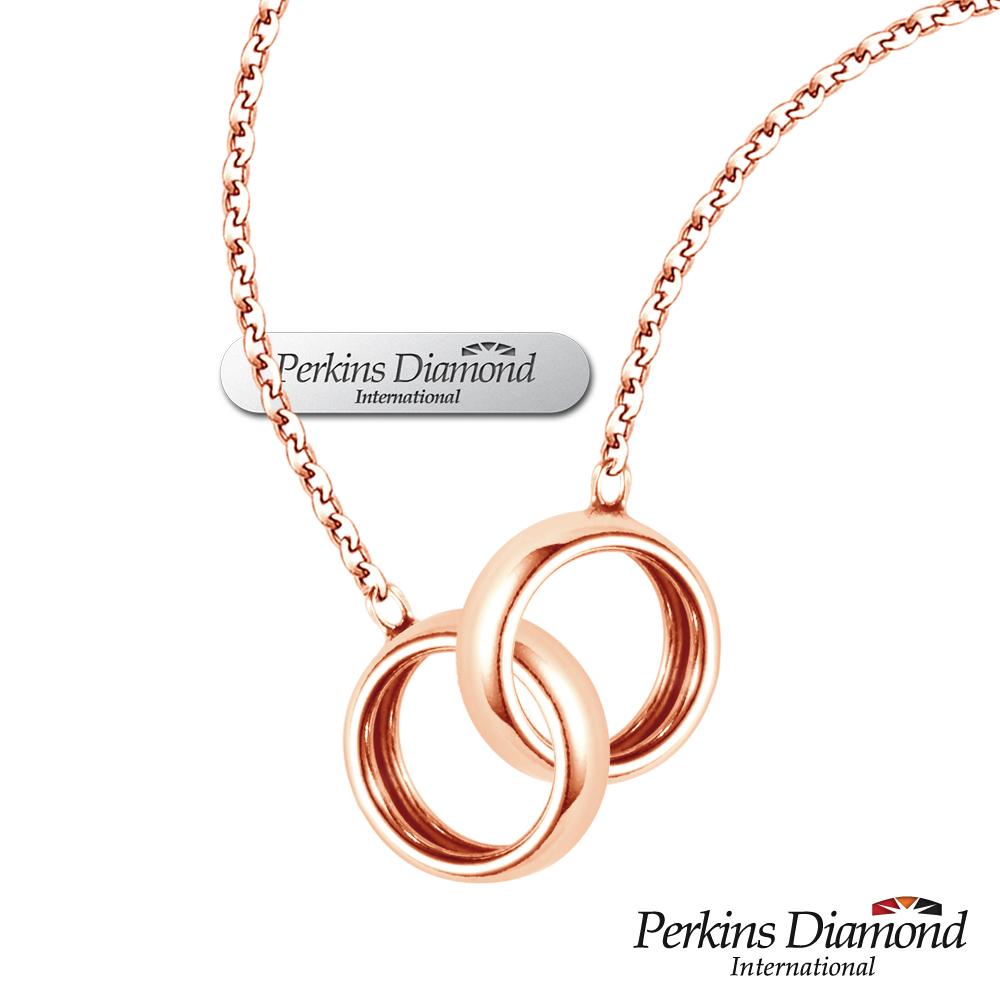 PERKINS 伯金仕 - sweet玫瑰金系列 925純銀項鍊