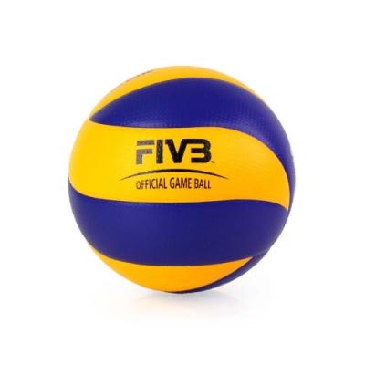 MIKASA 超纖皮製比賽級排球 #5 藍黃