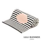 LULU GUINNESS LIP 條紋圍巾