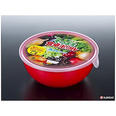 WAVA 日本NAKAYA紅色碗型多用途保鮮盒1.05L