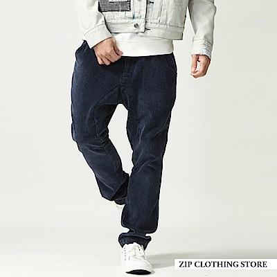 燈芯絨休閒錐形褲(2色) ZIP日本男裝