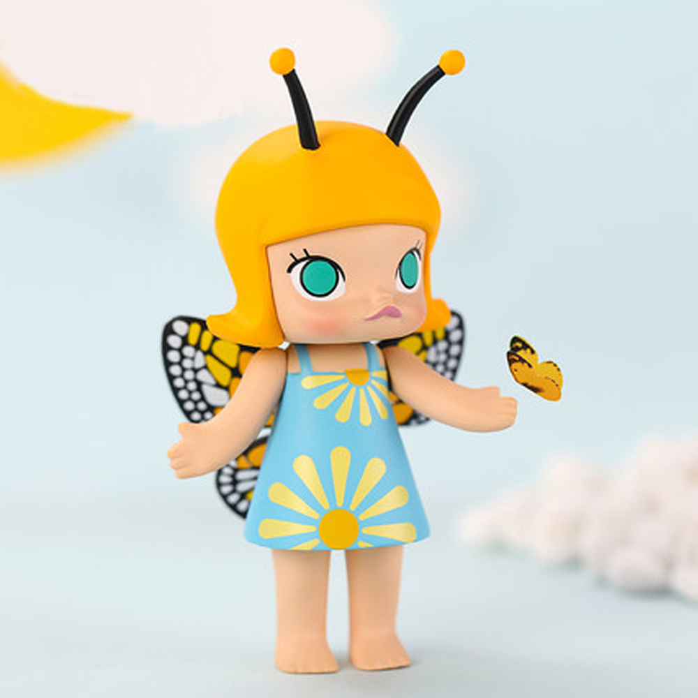 Molly 茉莉女孩昆蟲系列公仔(二入隨機款)