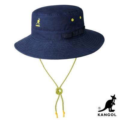 KANGOL-UTILITY CORDS JUNGLE 漁夫帽 - 深藍色
