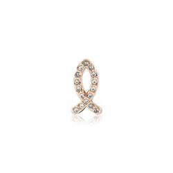 HOURRAE 鑲鑽魚 人氣玫瑰金系列 小飾品
