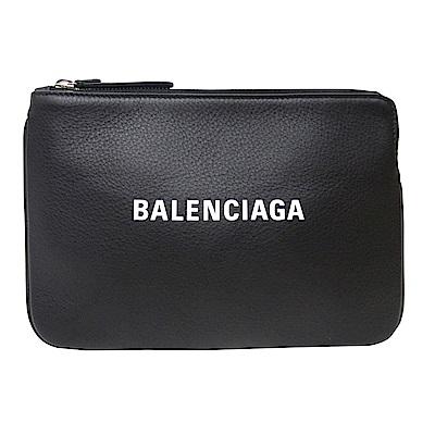 BALENCIAGA  EVERYDAY 牛皮手拿包(黑色)