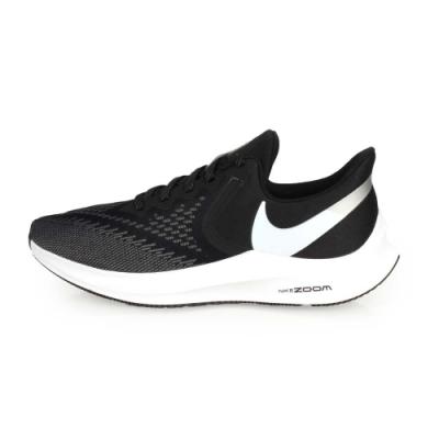 NIKE ZOOM WINFLO 6 男慢跑鞋-路跑 黑白