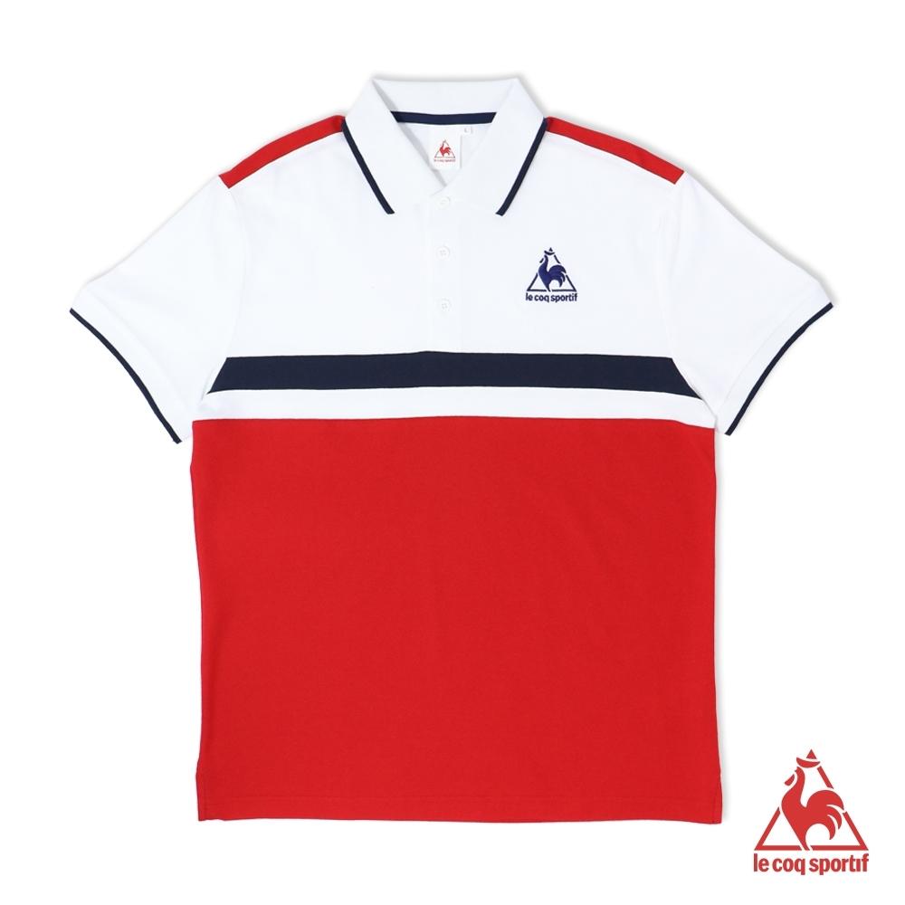 法國公雞牌短袖POLO衫 LOL2114875-男-紅