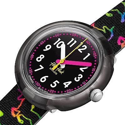 Flik Flak 兒童錶 DISCO UNICORN -31.85mm