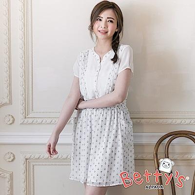 betty's貝蒂思 海洋風洋裝(白色)