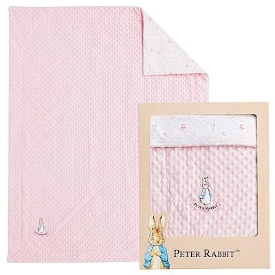 奇哥 比得兔豆趣二用蓋毯禮盒-粉色