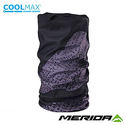 《MERIDA》美利達 Coolmax頭巾 黑/灰 2309004050