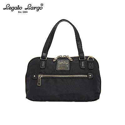 Legato Largo 2WAY兩用手提包-大-黑 LH-H1053BK