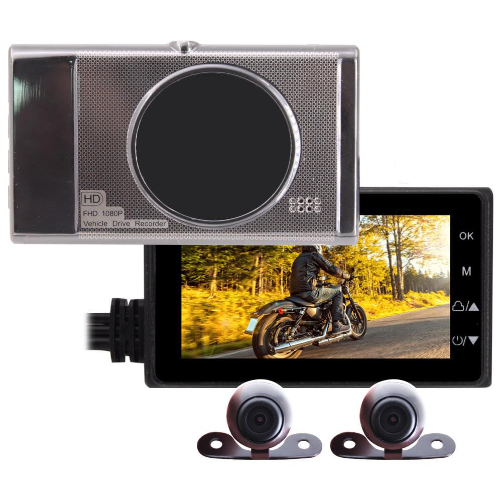 IS愛思 MR-18 前後雙鏡雙錄高畫質機車行車記錄器 @ Y!購物