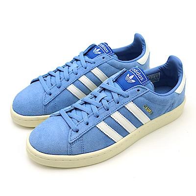 ADIDAS-CAMPUS W女休閒鞋-藍