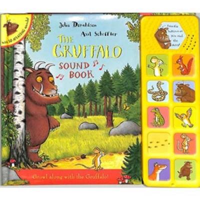 The Gruffalo Sound Book 小老鼠與古肥玀故事有聲書