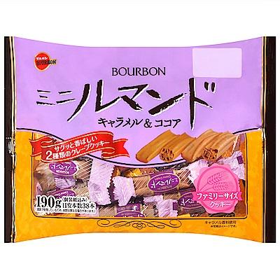 Bourbon北日本 綜合迷你蘿蔓捲餅乾 182.4g(含包裝紙190g)