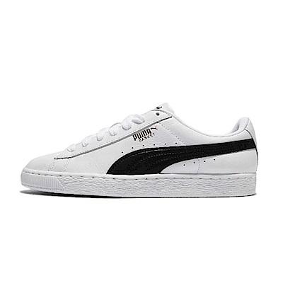PUMA 男女經典復古休閒鞋 CLASSIC LFS 白黑