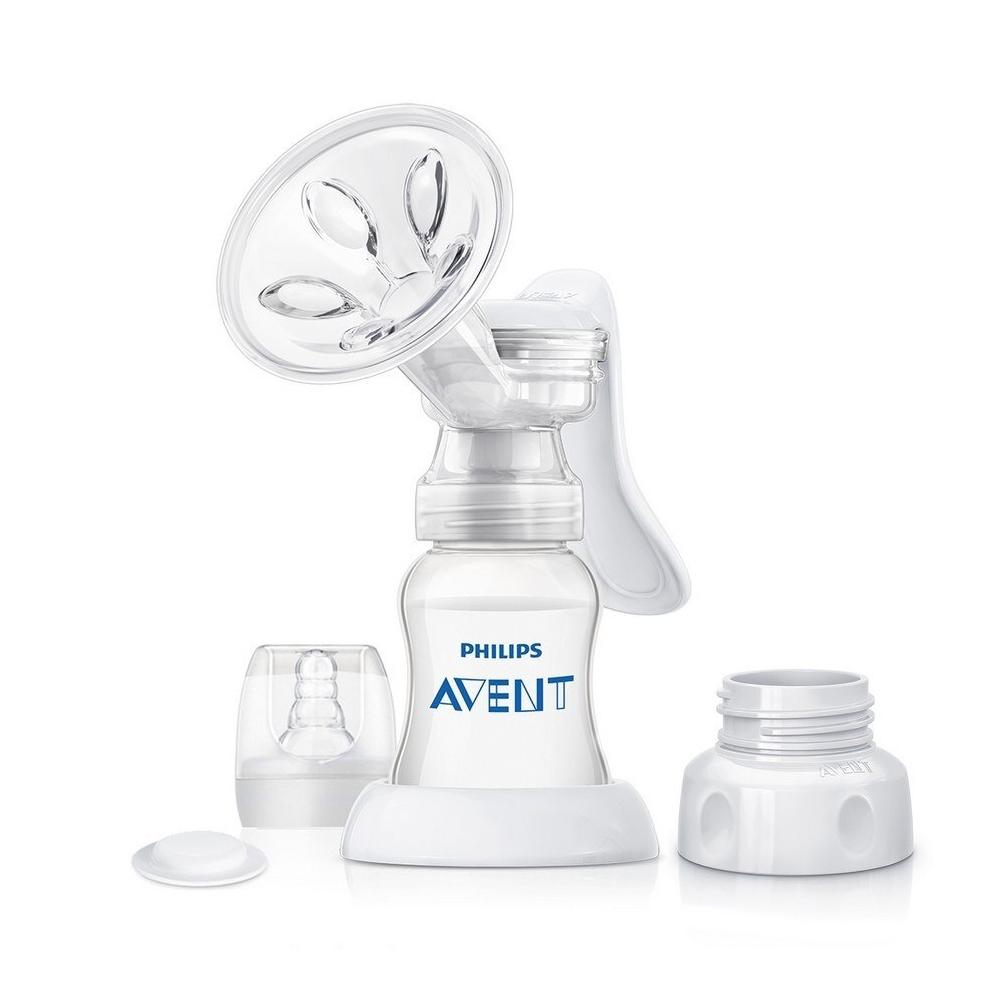 Philips Avent 新安怡 - 標準口徑手動吸乳器 (可接親乳感奶瓶)