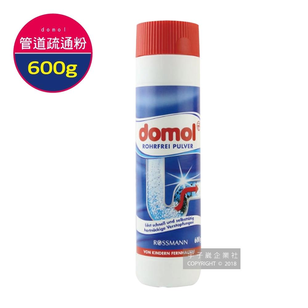 德國ROSSMANN domol馬桶水管管道疏通粉 600g(廚房/浴室/洗衣機)