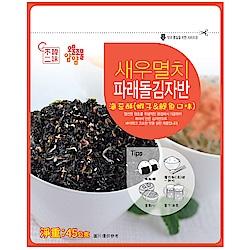 韓味不二 天命海苔酥-蝦子&鯷魚口味(45g)