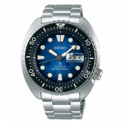 SEIKO 精工PROSPEX DIVER SCUBA 魟魚機械潛水錶-45mm(SRPE39J1/4R36-06Z0U)