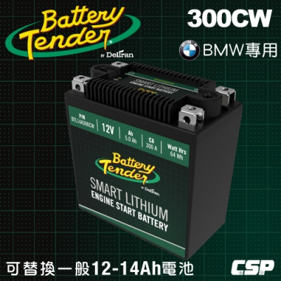 【Battery Tender】300CW(300A) 12V機車鋰鐵電池 鋰鐵啟動電池