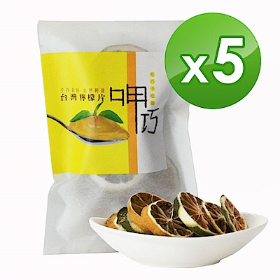 十翼饌 呷巧系列-台灣檸檬片x5包