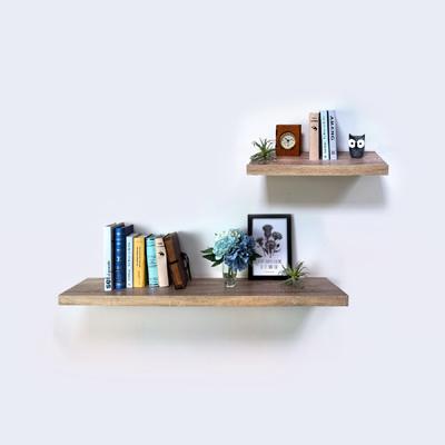 現代美學置物層板附托架-兩片裝 (60公分寬+120公分寬)-DIY組合產品