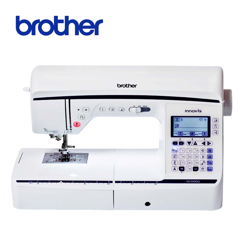 專業達人 日本brother 拼布達人電腦縫紉機型 NV-1800Q