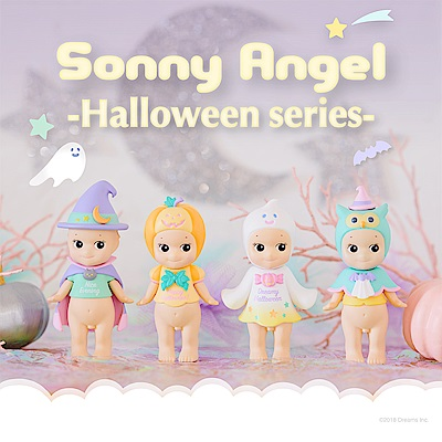 Sonny Angel Dreamy Halloween 夢幻萬聖節公仔(單入隨機款)