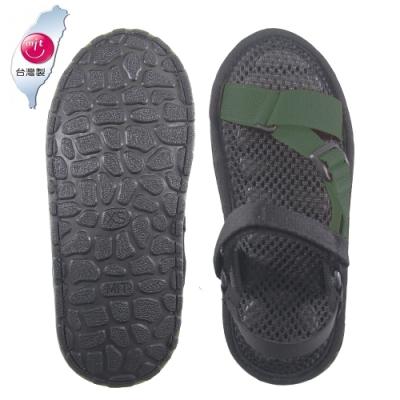 AC Rabbit 低均壓氣墊休閒涼鞋-綠色