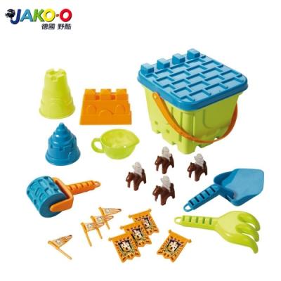 JAKO-O 德國野酷 沙堡堆砌工具組–綠色 (玩沙戲水)