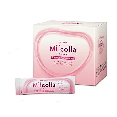 三得利 Milcolla 蜜露珂娜膠原蛋白粉(30日份/盒) (隨機加贈隨身包x1)