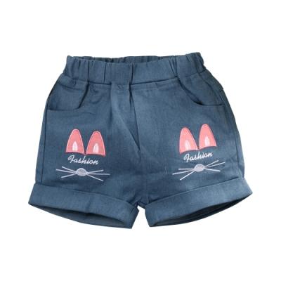女童牛仔短褲 k51295 魔法Baby