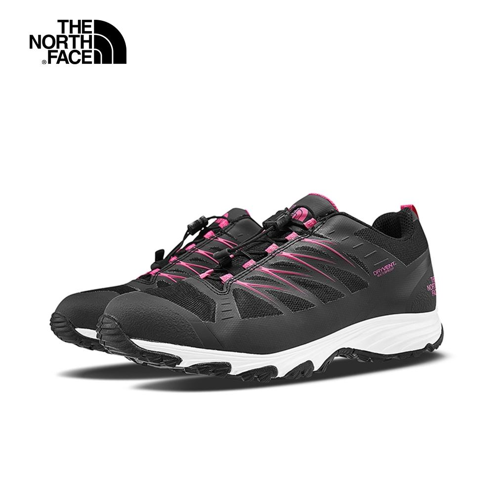 The North Face北面女款黑色防水透氣徒步鞋|4PF8MB5