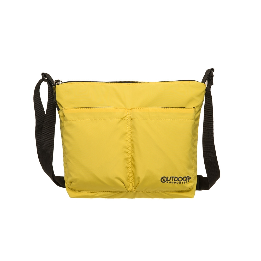 【OUTDOOR】輕遊系-側背包-黃色 OD201116YL