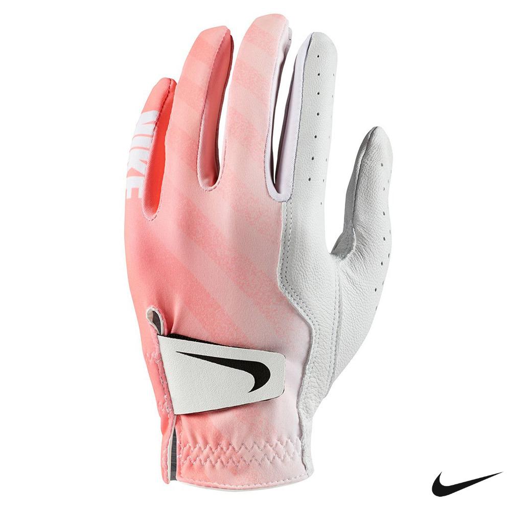 Nike Golf 女高爾夫手套 左手 白粉 GG0520-106