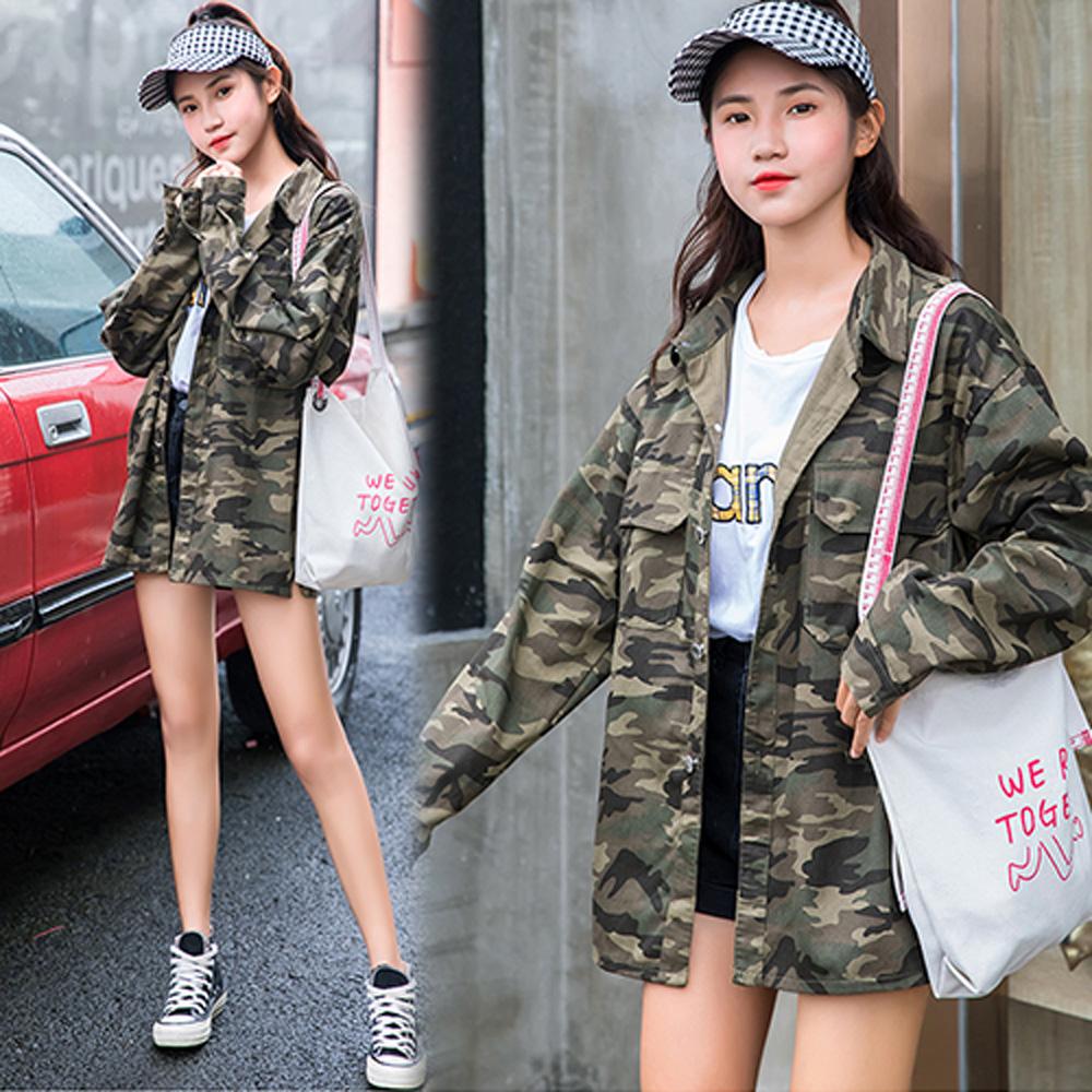 【韓國K.W.】超有型清雅香芬時尚外套