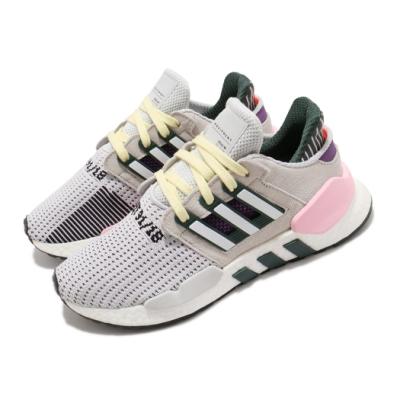 adidas 休閒鞋 EQT Support 91 18 女鞋 海外限定 愛迪達 麂皮 穿搭 灰 粉 BD7826