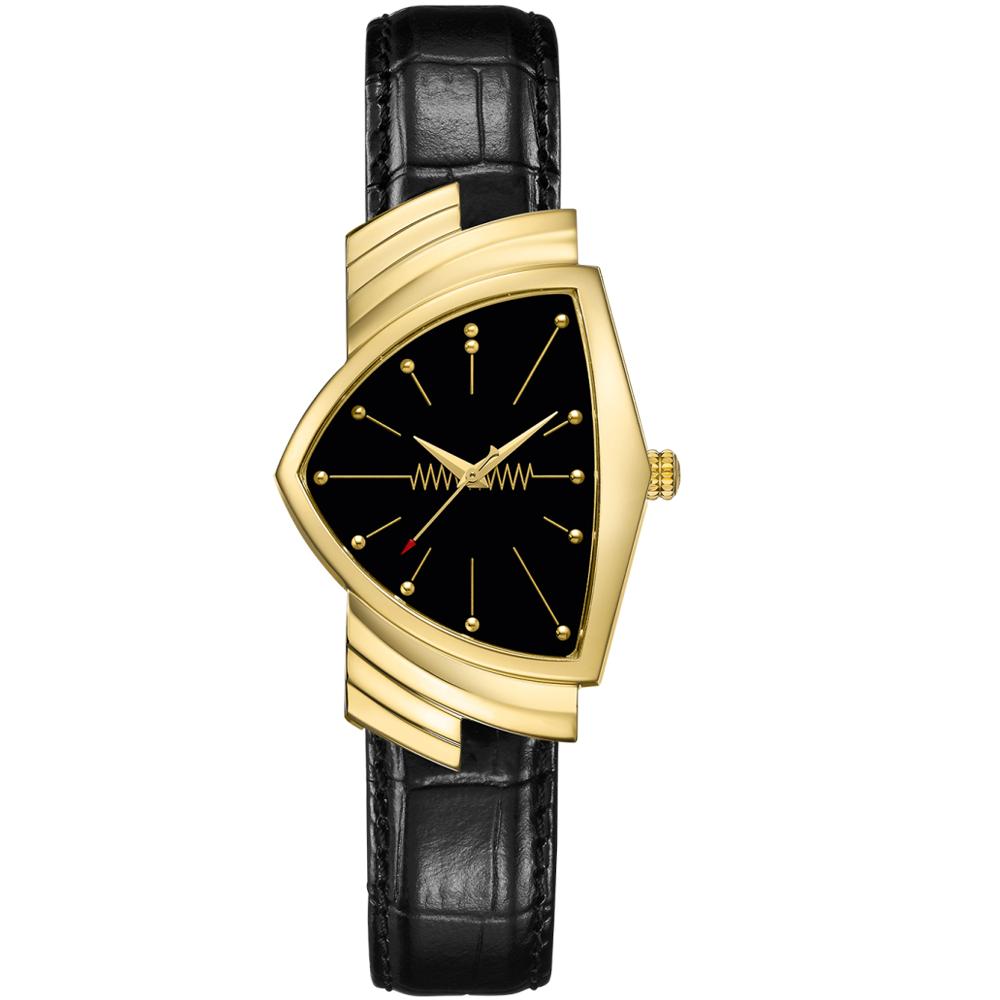 Hamilton漢米爾頓Ventura MIB星際戰警探員貓王同款錶(H24301731)